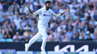 Jasprit Bumrah Yorker Video: Watch Indian Pacer Clean Up Jonny Bairstow With a Superb Delivery on Day 5 of Oval Test