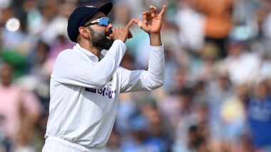 Virat Kohli Trumpet Celebration: Wasim Jaffer Shares 'Fixed' Headline for Media Report, Barmy Army Takes Funny Jibe at Indian Captain After Victory Against England in Oval Test