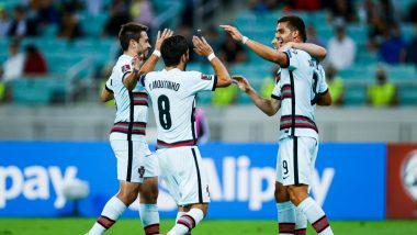 Azerbaijan 0–3 Portugal: Former European Champions Secure Easy Away Win in FIFA World Cup 2022 European Qualifiers