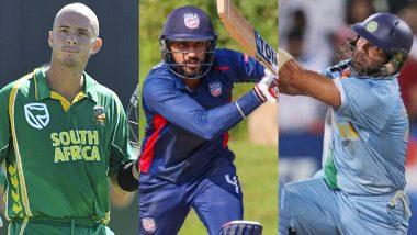 From Jaskaran Malhotra to Herschelle Gibbs; Check Full List of Batsmen to Hit Six Sixes in an Over in International Cricket (Watch Full Videos)