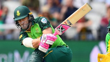 Faf Du Plessis, Imran Tahir, Chris Morris Left Out of South Africa's Squad for T20 World Cup 2021