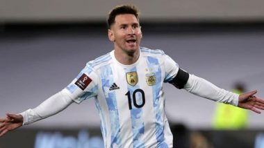 Lionel Messi Nets Scintillating Hat-Trick Against Bolivia in FIFA World Cup 2022 CONMEBOL Qualifiers (Watch Full Video)