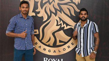IPL 2021: Wanindu Hasaranga and Dushmantha Chameera Join RCB Squad in UAE