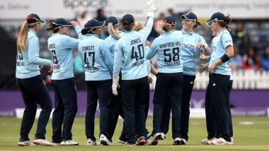 England Women vs New Zealand Women 1st ODI 2021 Live Streaming Online On FanCode: Get ENG-W vs NZ-W Cricket Match Free TV Channel and Live Telecast Details