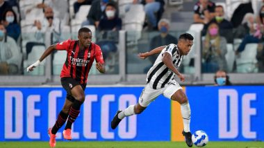 Juventus 1–1 AC Milan, Serie A 2021–22: Bianconeri Held at Home, Drop Down to Relegation Zone After Remaining Winless This Season (Watch Goal Highlights)