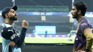 Virat Kohli Shares Batting Tips With KKR's Venkatesh Iyer After Latter's Debut Against RCB in IPL 2021 (Watch Video)