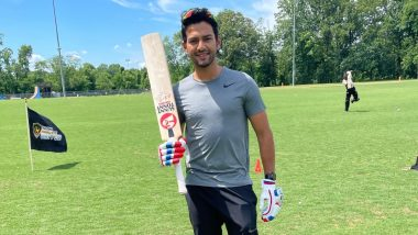 Unmukt Chand Scores 132* off Just 69 Deliveries in Minor League Cricket, Propels Silicon Valley Strikers to Conference Finals (Watch Video)