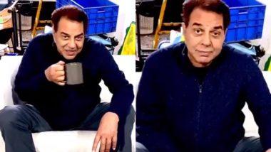 Dharmendra Says He's Romancing Camera on the Sets of Rocky Aur Rani Ki Prem Kahani (Watch Video)