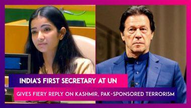 Sneha Dubey, India's First Secretary At UN, Gives Fiery Response On Kashmir, Highlights Pak-Sponsored Terrorism