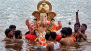 Ganesh Visarjan 2021 Dos and Don'ts: From Type of Flowers to Puja Rituals, Auspicious Things to Do as You Bid Bappa Farewell