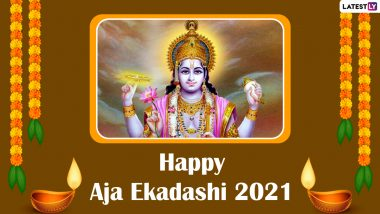 Happy Aja Ekadashi 2021 Greetings: WhatsApp Images, HD Wallpapers and SMS to Share on The Auspicious Day