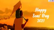 Son's Day 2021 Wishes & Greetings: Celebrate National Sons Day With WhatsApp Messages, HD Images, Quotes and Wallpapers on September 28