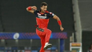 Harshal Patel Hat-Trick Video: Watch RCB Pacer Dent Mumbai Indians With Three Wickets in Three Balls