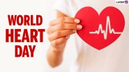 World Heart Day 2021: How To Improve Your Heart Health Naturally? Nutritious Foods and Lifestyle Changes You Should Keep in Mind