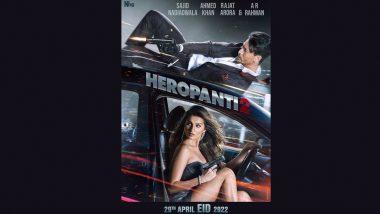 Heropanti 2: Tiger Shroff, Tara Sutaria's Film To Hit the Big Screens on April 29, 2022!