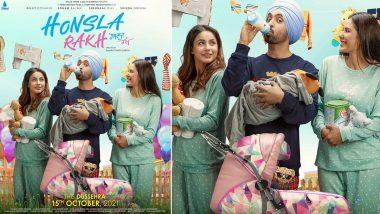 Honsla Rakh: Diljit Dosanjh, Shehnaaz Gill, Sonam Bajwa's Punjabi Film's Trailer To Be Out On September 27!