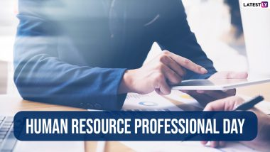 Happy Human Resources Professional Day 2021! Wishes, Images & HD Wallpapers