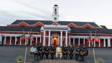 Uttarakhand: MoS Defence Ajay Bhatt Visits Indian Military Academy at Dehradun, Interacts With Commandant and Gentlemen Cadets