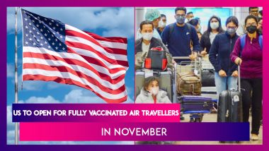 US To Open For Fully Vaccinated Air Travellers In November, For Indians Only Covishield On Approved List