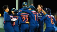 India Women vs Australia Women, 3rd ODI 2021 Live Cricket Streaming Online: Get Telecast Details of IND W vs AUS W on Sony Sports Network and SonyLiv