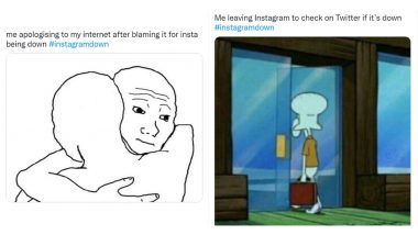 Instagram Down Funny Memes and Jokes Go Viral on Twitter After Photo-Sharing App Faces Outage!