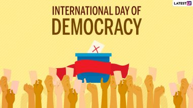 International Day of Democracy 2021: Quotes on Democracy to Mark The UN-Recognised Day