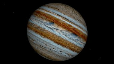 Moon-Jupiter Conjunction in East-Northeast Sky Tonight