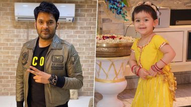 Happy Daughters' Day 2021: Kapil Sharma Celebrates the Occasion by Sharing Adorable Pics of Anayra!