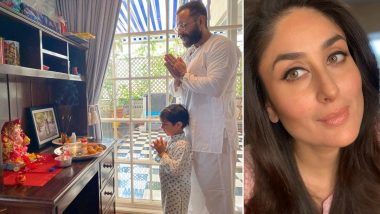 Kareena Kapoor Khan Shares a Glimpse of Her Ganesh Chaturthi Celebrations With 'Loves' of Her Life