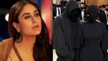 Kareena Kapoor Khan Goes 'Kya Ho Raha Hai' at Kim Kardashian-Kanye West's Bizarre MET Gala 2021 Outfits (View Post)