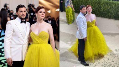 'Jon Snow' Kit Harington and 'Ygritte' Rose Leslie Arrive in Style for Met Gala 2021, Netizens Are Loving It!