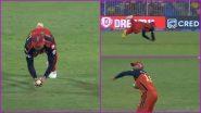 Virat Kohli Catch Video: Watch RCB Captain Take a Stunner Against CSK in IPL 2021 Match to Dismiss Ruturaj Gaikwad