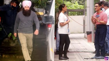 Laal Singh Chaddha: Kareena Kapoor Khan and Aamir Khan Clicked on Sets of the Film; Check Out the Pics!