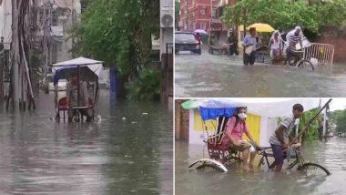 West Bengal Rains: Torrential Rainfall Wreaks Havoc in Kolkata, IMD Predicts More Downpour in the City