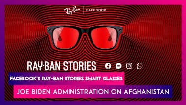 Facebook's Ray-Ban Stories Smart Glasses Launched, Check Prices, Features & Specifications