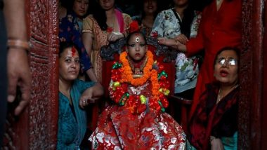 Kumari Puja 2021: Young Girls Worshipped in Nepal During Traditional Celebrations