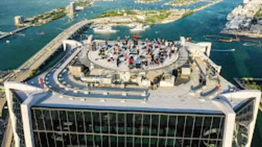 Luis Corchon Joins Ronin Creative to Capture Epic Workout Atop One Thousand Museum Helipad