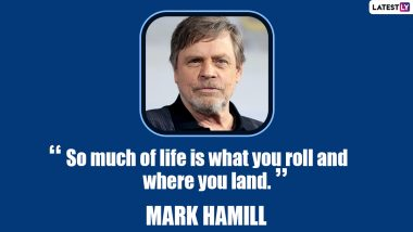 Mark Hamill Birthday Special: 11 Quotes by the Star Wars Actor That Depict His Views on Movies and Choices of Career