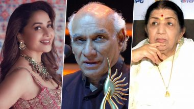Yash Chopra Birth Anniversary: Madhuri Dixit, Lata Mangeshkar and Other Celebs Remember the Man Who Redefined Romance in Bollywood