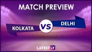 KKR vs DC Preview: Likely Playing XIs, Key Battles, Head to Head and Other Things You Need To Know About VIVO IPL 2021 Match 41