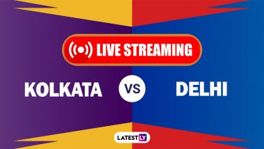 KKR vs DC, IPL 2021 Live Cricket Streaming: Watch Free Telecast of Kolkata Knight Riders vs Delhi Capitals on Star Sports and Disney+Hotstar Online