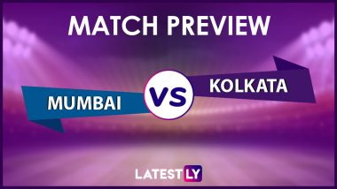MI vs KKR Preview: Likely Playing XIs, Key Battles, Head to Head and Other Things You Need To Know About VIVO IPL 2021 Match 34