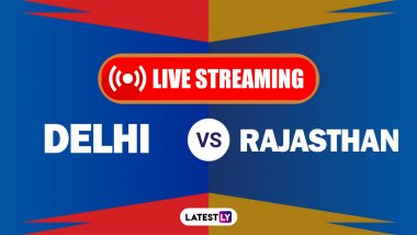 DC vs RR, IPL 2021 Live Cricket Streaming: Watch Free Telecast of Delhi Capitals vs Rajasthan Royals on Star Sports and Disney+Hotstar Online
