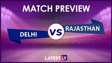 DC vs RR Preview: Likely Playing XIs, Key Battles, Head to Head and Other Things You Need To Know About VIVO IPL 2021 Match 36