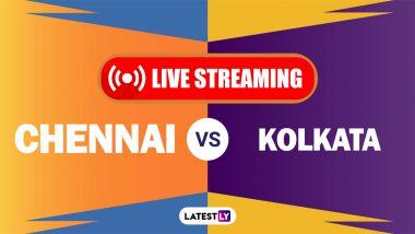 CSK vs KKR, IPL 2021 Live Cricket Streaming: Watch Free Telecast of Chennai Super Kings vs Kolkata Knight Riders on Star Sports and Disney+Hotstar Online
