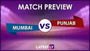 MI vs PBKS Preview: Likely Playing XIs, Key Battles, Head to Head and Other Things You Need To Know About VIVO IPL 2021 Match 42