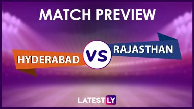 SRH vs RR Preview: Likely Playing XIs, Key Battles, Head to Head and Other Things You Need To Know About VIVO IPL 2021 Match 40
