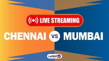 CSK vs MI, IPL 2021 Live Cricket Streaming: Free Telecast of Chennai Super Kings vs Mumbai Indians
