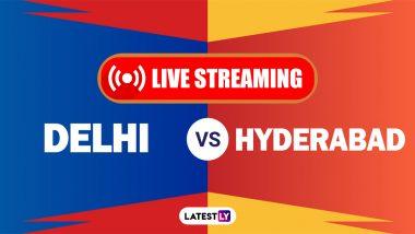 DC vs SRH, IPL 2021 Live Cricket Streaming: Watch Free Telecast of Delhi Capitals vs Sunrisers Hyderabad on Star Sports and Disney+Hotstar Online