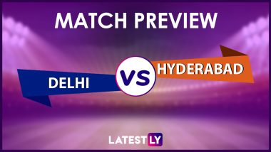 DC vs SRH Preview: Likely Playing XIs, Key Battles, Head to Head and Other Things You Need To Know About VIVO IPL 2021 Match 33